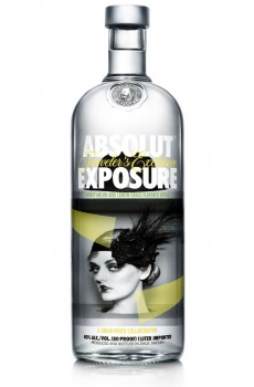 Absolut Exposure Limited Edition Bottle